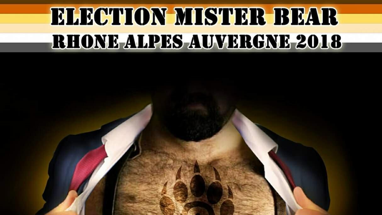 Mr Bear Rhône-Alpes-Auvergne Election, Samedi 24 mars 22h00, Centre LGBTI Lyon (Fr/En)