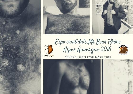 Expo Mr Bear Rhône Alpes Auvergne 2018, Centre LGBTI, mardi 6 mars, 19h30 (Fr/En)