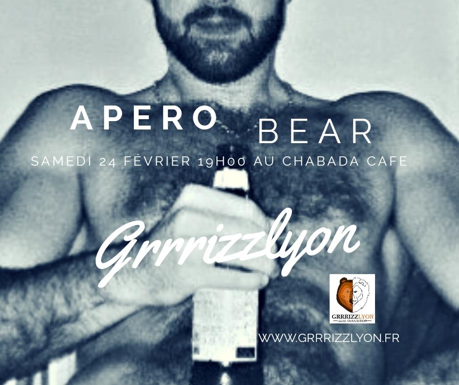 Apéro BEAR, samedi 24 février, 19h, le Chabada Café