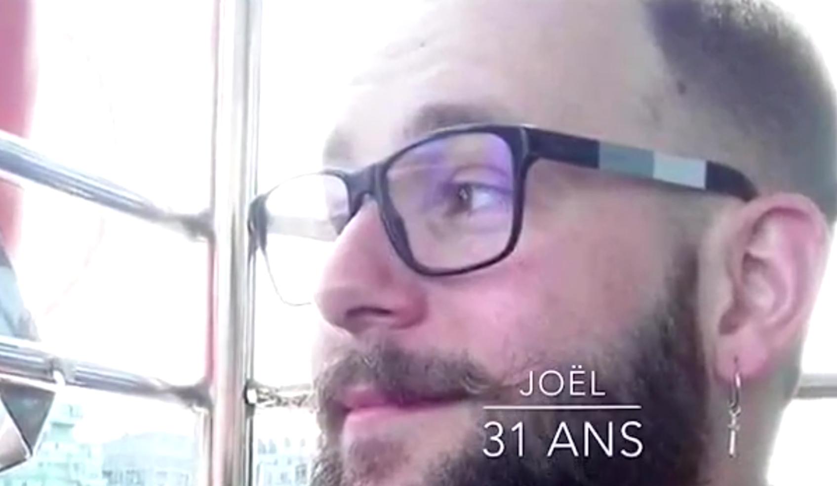 Joël, Candidat à Mister Bear Rhône Alpes Auvergne 2018