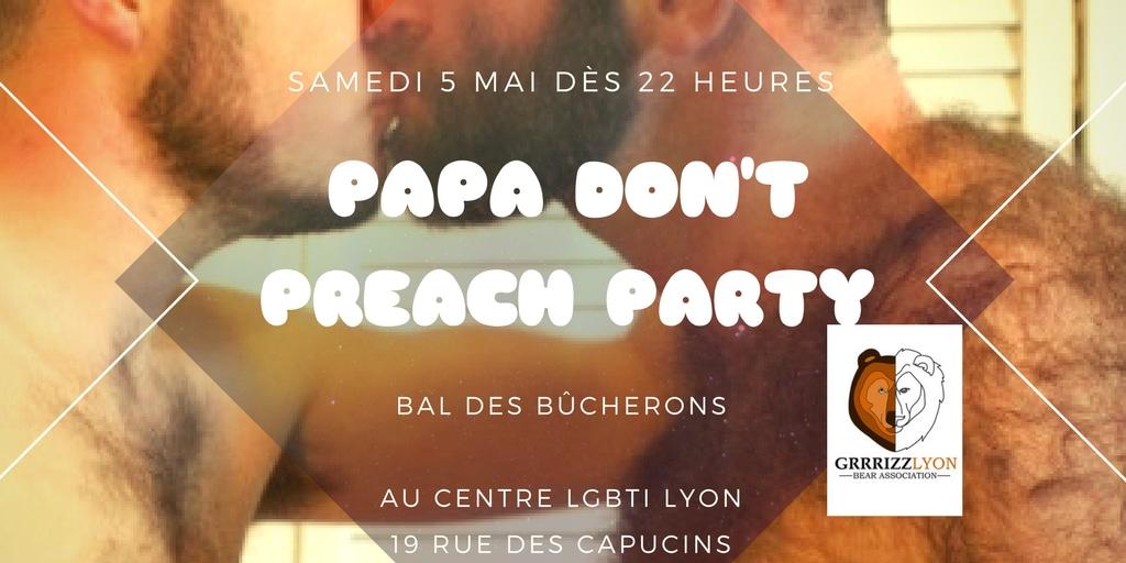 Papa Don't Preach PARTY BDB, Samedi 5 mai, Centre LGBTI