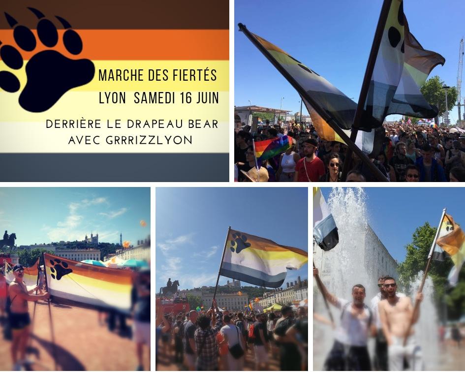 Marche Des Fiertés LYON Pride,  Bear Meeting 16/06/2018