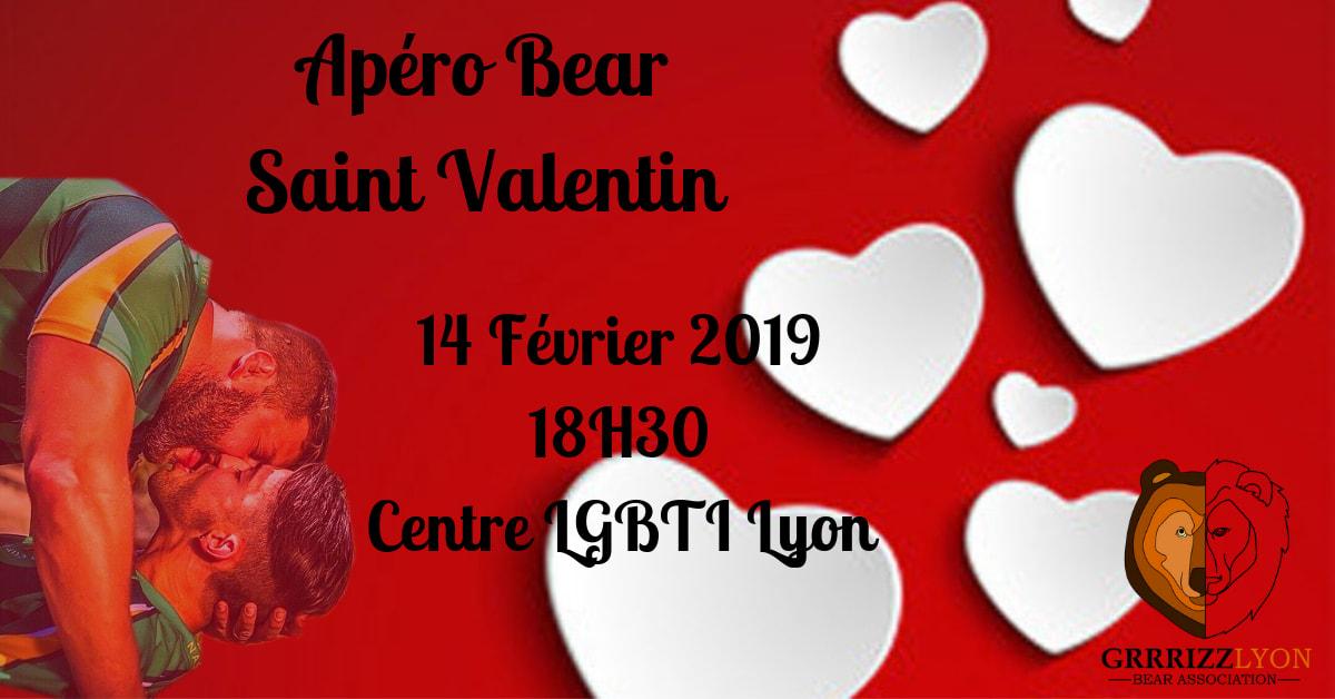 Apéro Bear, Jeudi 14 février, 18h30, Centre LGBTI