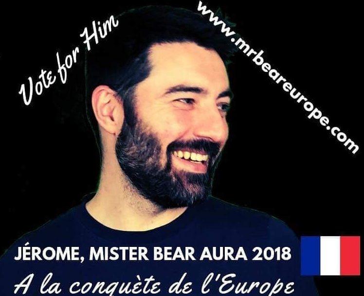 Mr Bear Europe 2019: Soutenons la candidature de Jérôme!