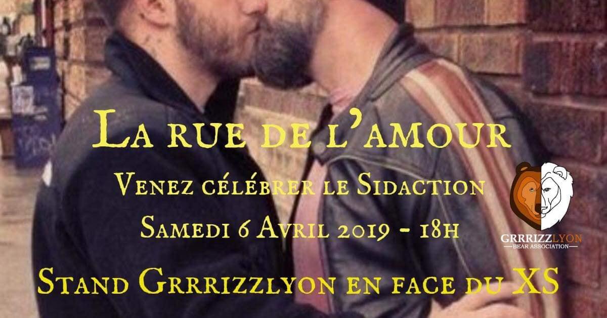 Grrrizzlyon A la Rue De L'amour, samedi 6 avril , rue Claudia