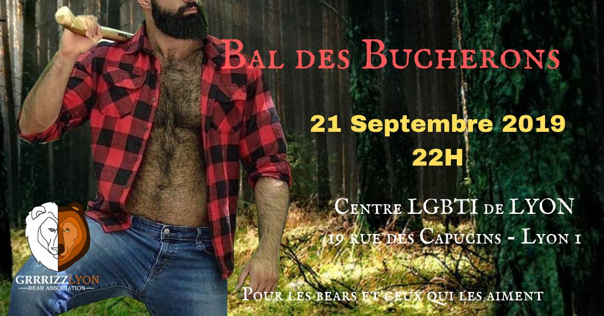 Bal des Bûcherons, Samedi 21 septembre, 22h, Centre LGBTI