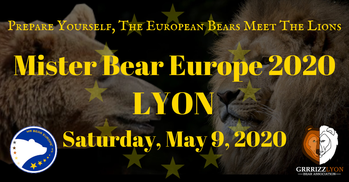 Mr Bear Europe 2020 Election, May 9, 21:00, Lyon