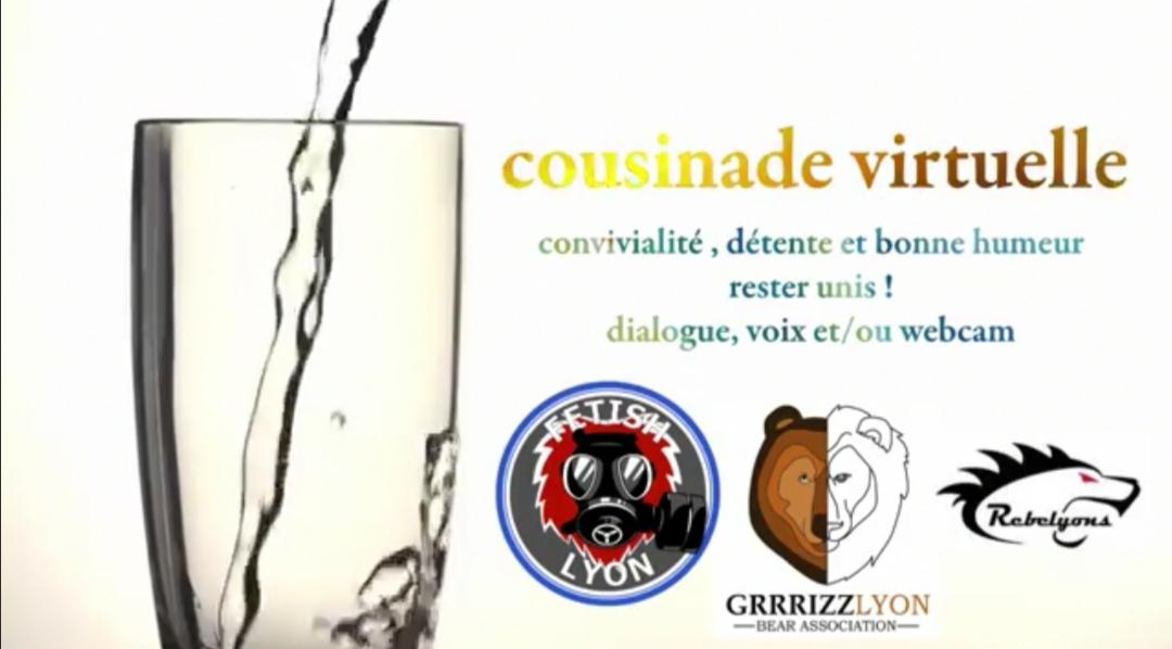 Apero Virtuel Cousinade samedi 25 avril 18h30