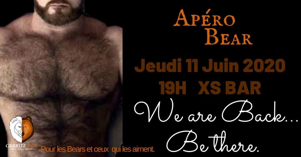 Apéro Bear, jeudi 11 juin 19h, XS Bar