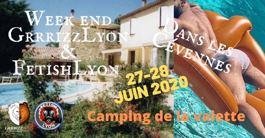 Week-end Camping, Cévennes, 27 & 28 juin 2020