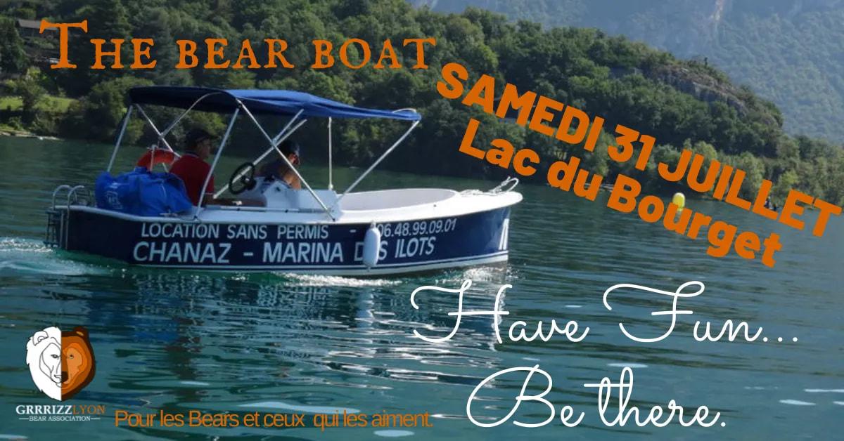 THE BEAR BOAT, Lac du Bourget, 31 juillet 2021