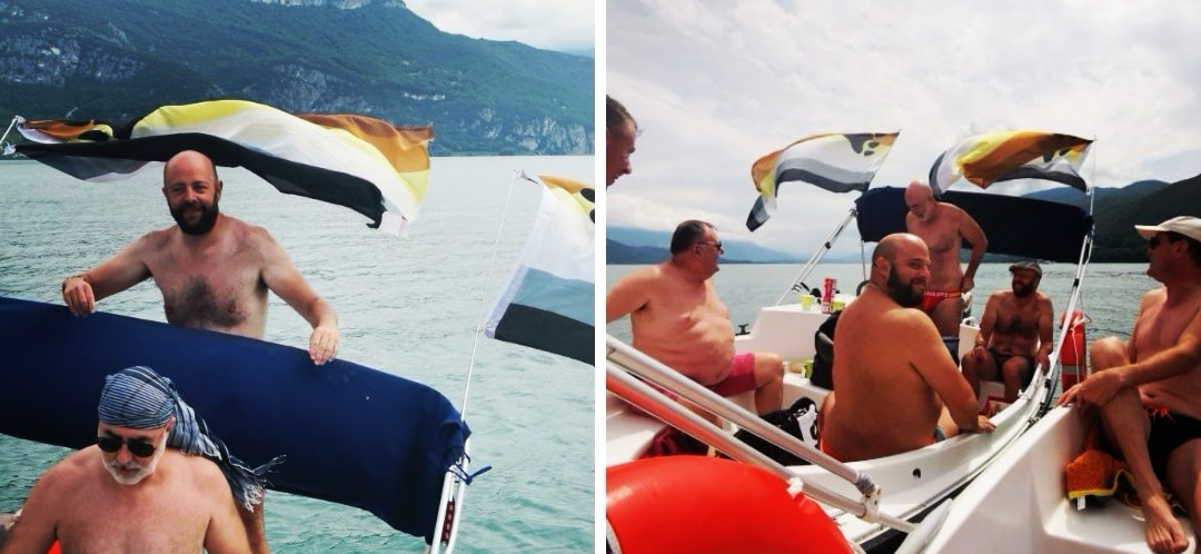 The Bear Boat, samedi 31 juillet, Lac du Bourget